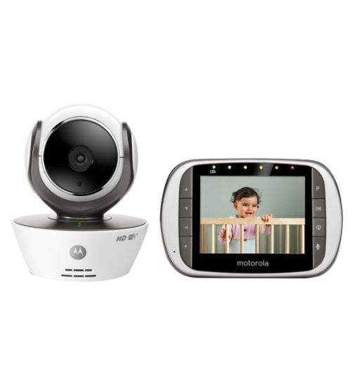 Motorola MBP853 Connect HD Wi-Fi® video baby monitor