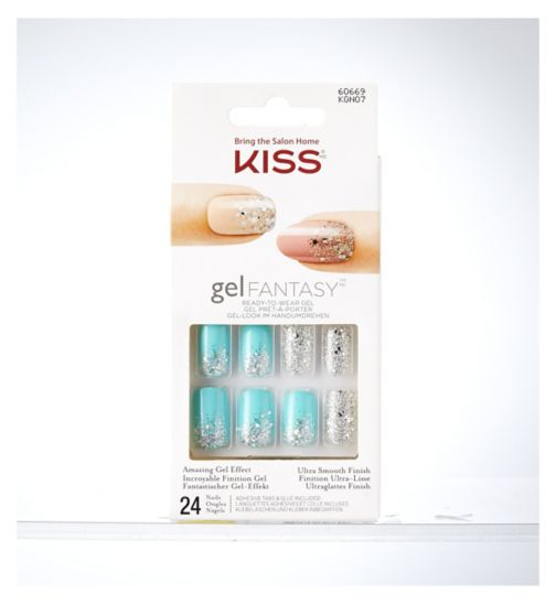 KISS Gel Fantasy Nail Kit- Rush Hour