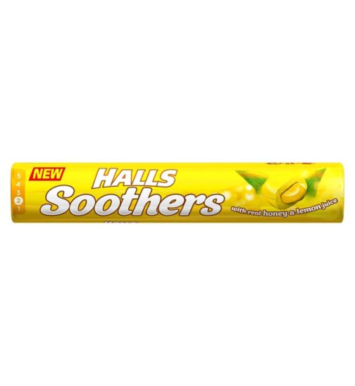 Halls Soothers - Honey & Lemon
