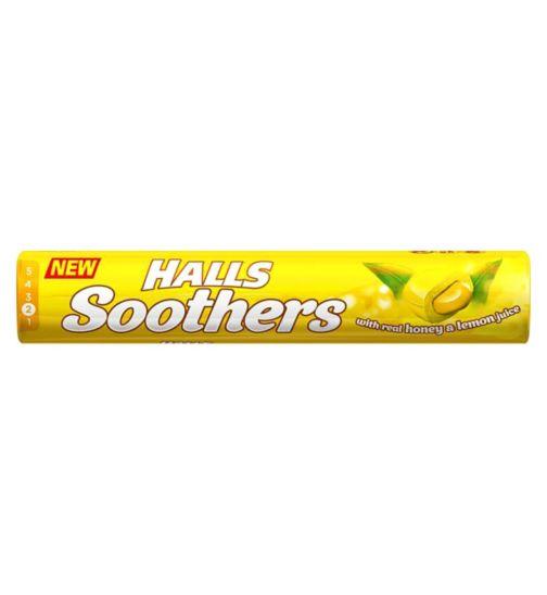 Halls Soothers - Honey & Lemon