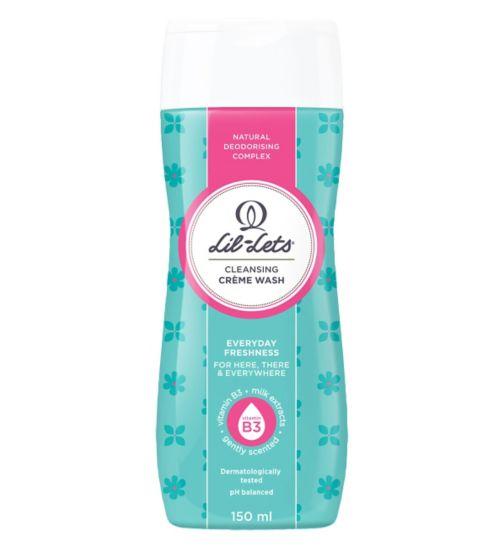 Lil-Lets Crème Wash 150 ml