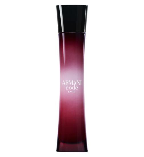 Armani Code Femme Satin Eau De Parfum 50ml