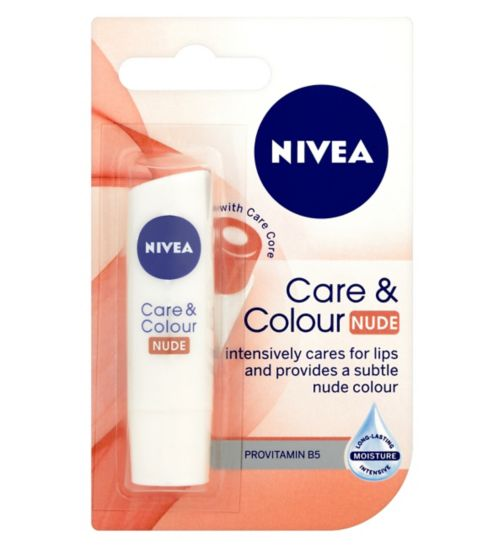 NIVEA Lip Care & Colour Nude 4.8g