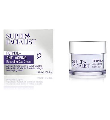 Super Facialist Retinol+ Anti-Ageing Day Cream 50ml