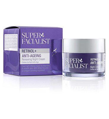 Super Facialist Retinol+ Anti-Ageing Night Cream 50ml