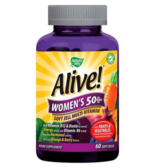 Nature's Way Alive! Women's 50+ - 60 Soft Jells