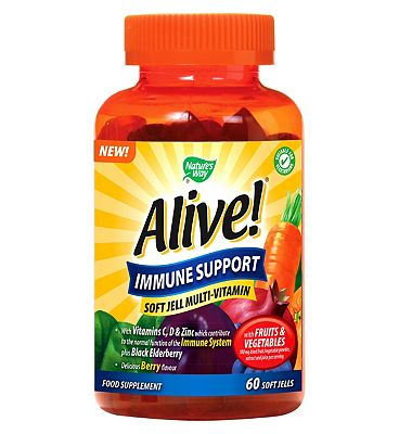 Nature's Way Alive! Immune Support - 60 Soft Jells