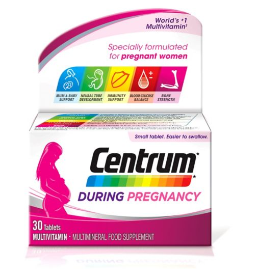 Centrum During Pregnancy - 30 Tablets