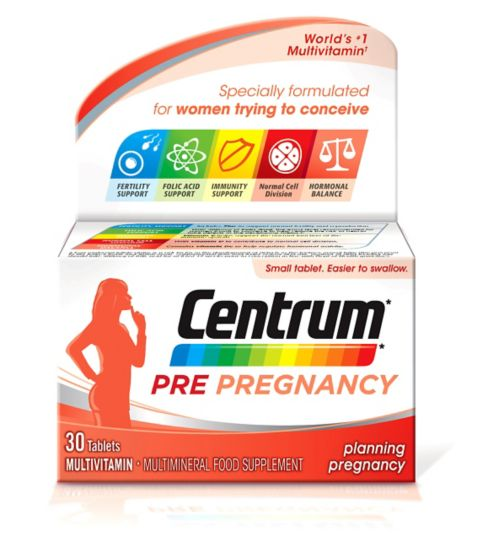 Centrum Pre-Pregnancy - 30 Tablets.