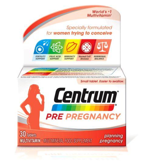 Centrum Pre-Pregnancy - 30 Tablets.