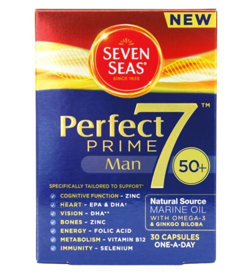 Seven Seas Perfect7 Prime Man - 30 Capsules