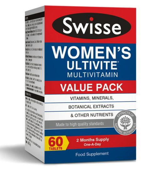 Swisse Women's Ultivite Multivitamin - 60 tablets