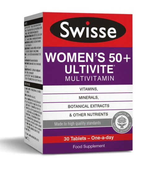 Swisse Women's Ultivite 50 Multivitamin - 30 tablets