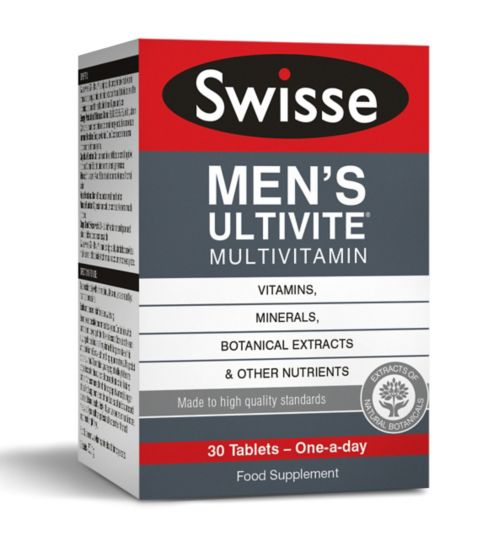 Swisse Men's Ultivite Multivitamin - 30 tablets