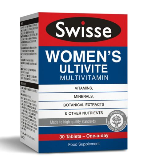 Swisse Women's Ultivite Multivitamin - 30 tablets