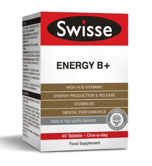 Swisse Ultiplus Energy B+ - 40 tablets