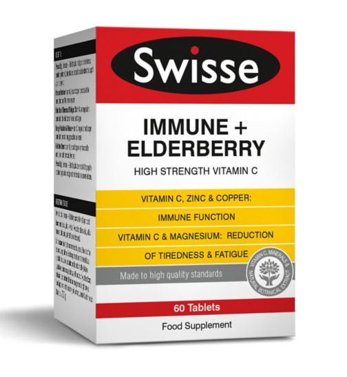 Swisse Ultiplus Immune + Elderberry - 60 Tablets
