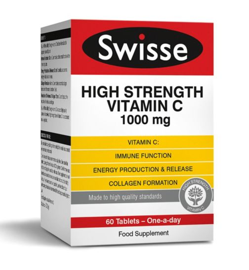 Swisse Ultiplus High Strength Vitamin C 1000mg - 60 tablets