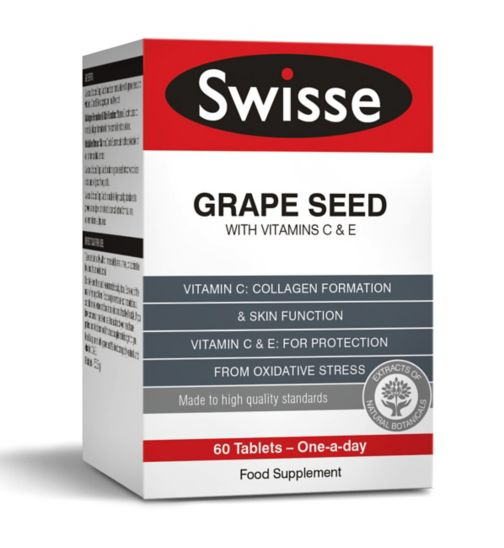 Swisse Ultiplus Grape Seed with Vitamins C and E - 60 tablets
