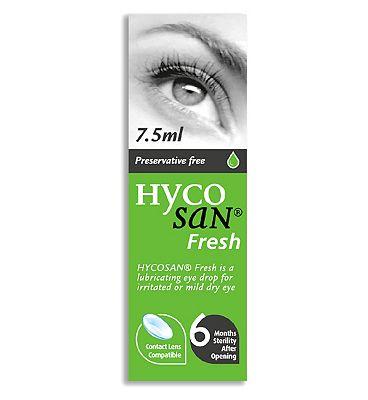 Hycosan Fresh Preservative Free Eye Drops - 7.5ml