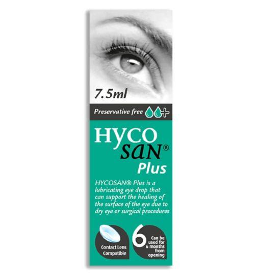 Hycosan Plus Preservative Free Eye Drops - 7.5ml