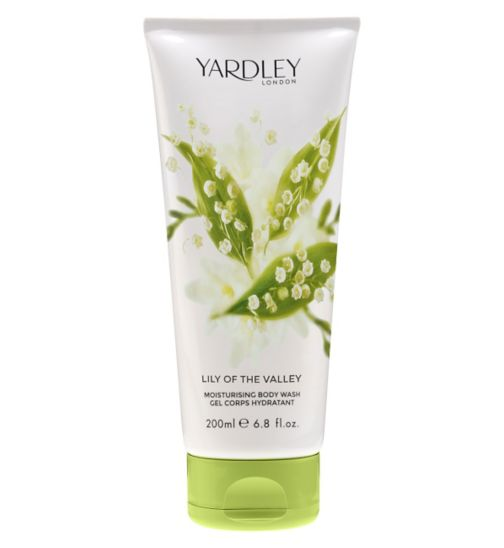 Yardley London Lily of the Valley Body Wash 200ml