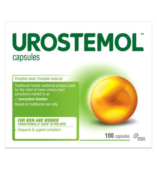Urostemol Capsules - 100 capsules - Exclusive to Boots