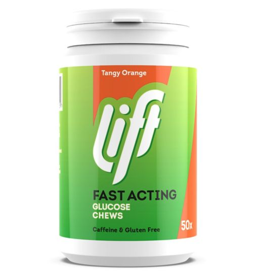 GlucoTabs Tangy Orange Fast-Acting Glucose 200g