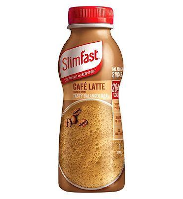SlimFast Cafe latte Milk Shake - 325ml