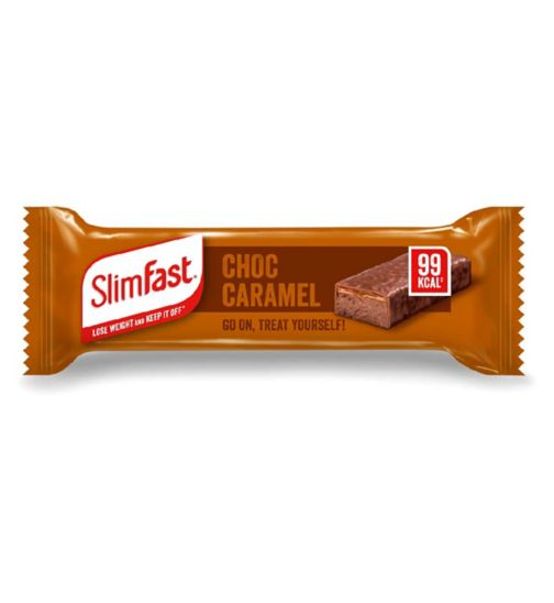 SlimFast Chocolate Caramel Treat Snack Bar 26g