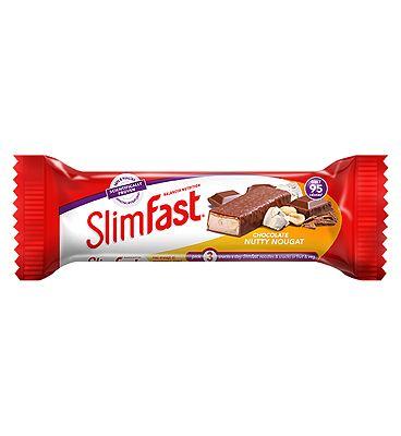 SlimFast Chocolate Nutty Nougat Snack Bar 25g