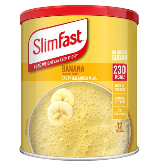 Slim-Fast Blissful Banana Shake 438g