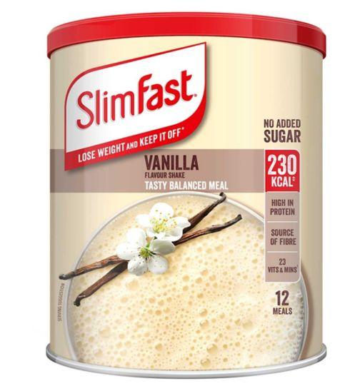Slim-Fast Simply Vanilla Shake 438g