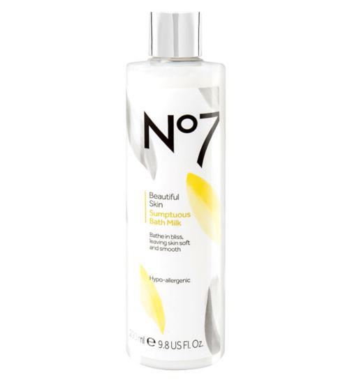 No7 Beautiful Skin Sumptuous Bath Milk
