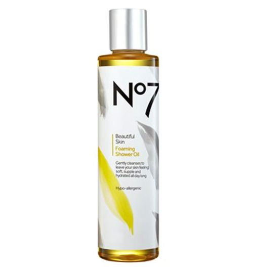 No7 Beautiful Skin Foaming Shower Oil