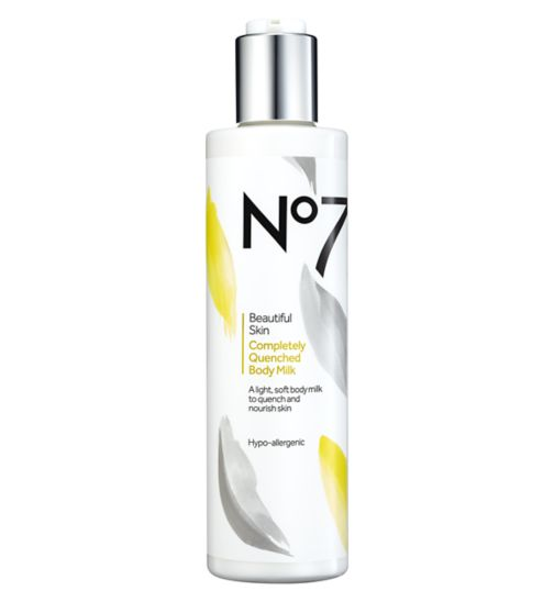 No7 Beautiful Skin Completely Quenched Body Milk