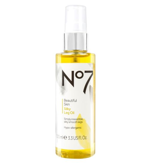 No7 Beautiful Skin Silky Leg Oil