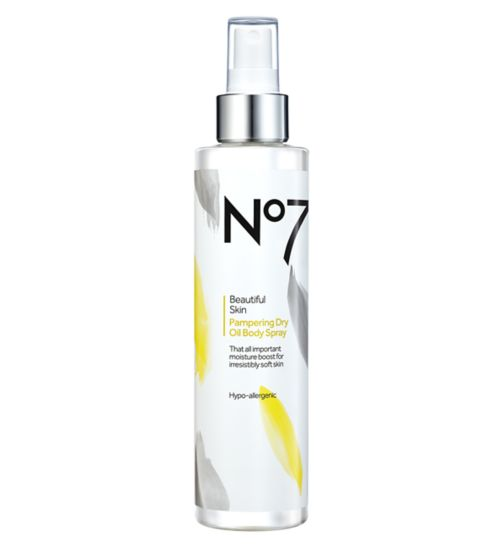 No7 Beautiful Skin Pampering Dry Body Oil