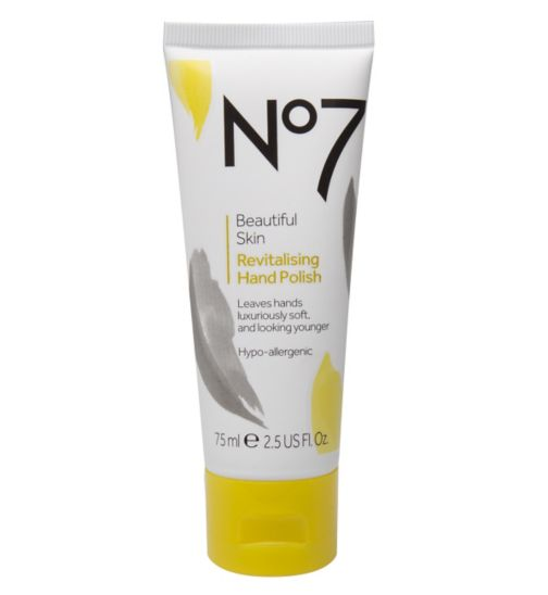 No7 Beautiful Skin Revitalising Hand Polish 75ml