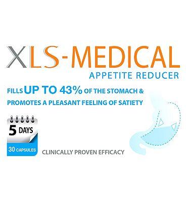 XLS-Medical Appetite Reducer - 30 capsules