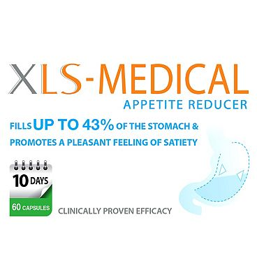 XLS Medical Specialist Apetite Reducer - 60 capsules