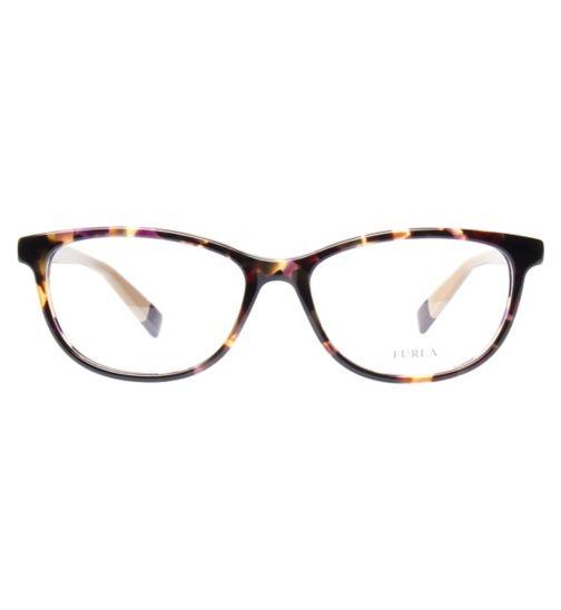 f2fc3e1d85 Furla VU4946 Women s Glasses - Havana