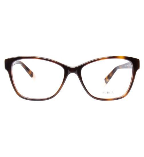 7776cb4254 Furla VU4947S Women s Glasses - Havana