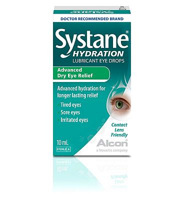 Systane Hydration Lubricant Eye Drops 10ml