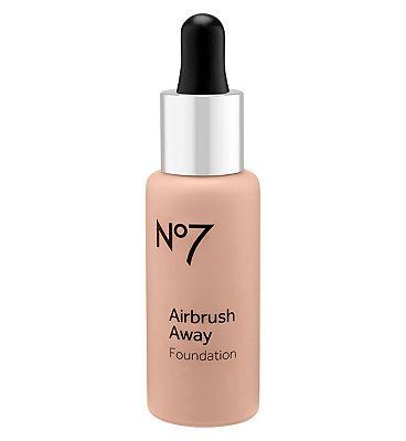 Image of No7 Airbrush Away Foundation cool vanilla 30ml Cool Vanilla