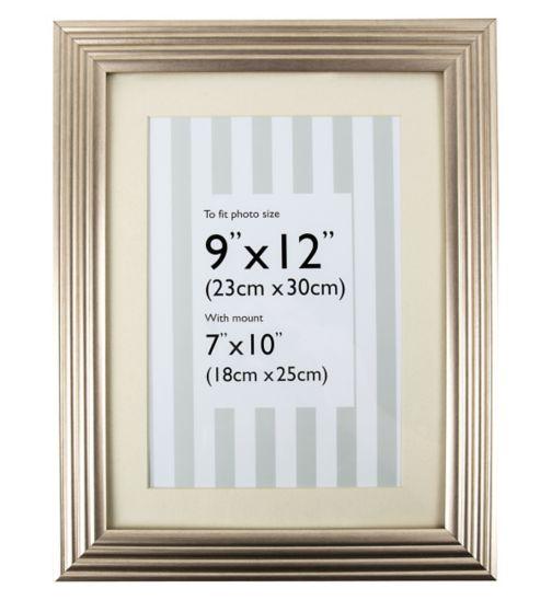 Silver Photo Frame - 10x7