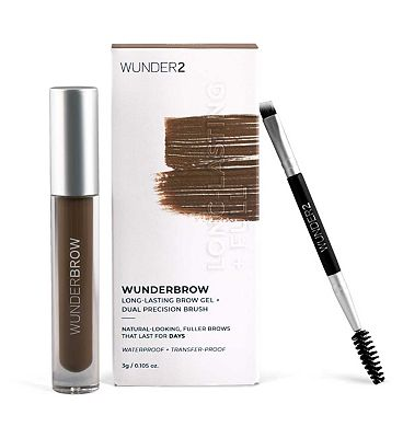 WUNDER2 WUNDERBROW Extra Long-Lasting Eyebrow Gel Brunette