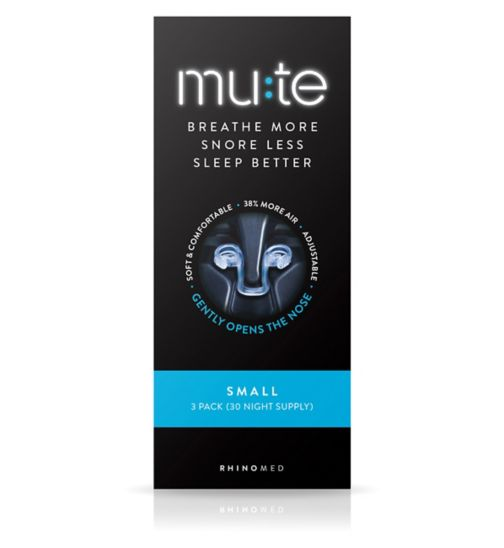Mute Small - 3 pack (30 Night Supply)