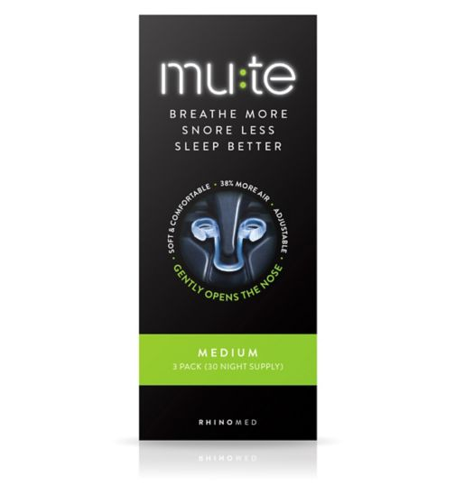 Mute Medium - 3 pack (30 Night Supply).