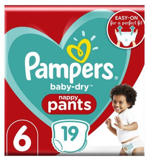 Pampers size 6 Baby-Dry pants 15+kg 19s